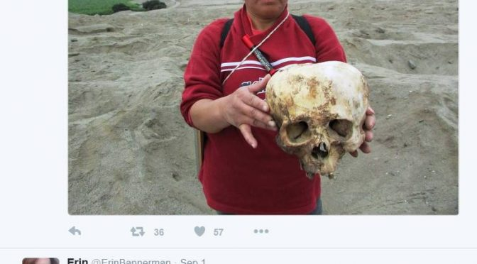 American Conspiracy theorist and pseudoscience proponent may be attempting to circumvent Peruvian authorities to desecrate human remains