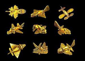 quimbaya_insects_fish