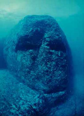 The 'Ancient Underwater Ruins' of Yonaguni, Japan ...