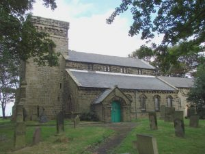 St. Mary's Church where Bailey et al did their apparently poorly designed dowsing experiments.