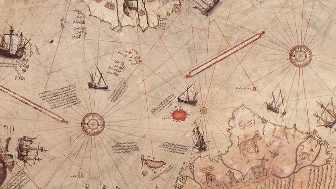 Image result for The Piri Reis Map