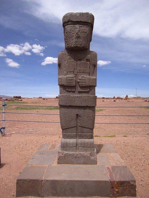 Figure at Tiwanaku