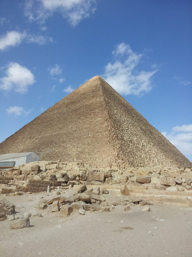 Egyptian Pyramids at Giza